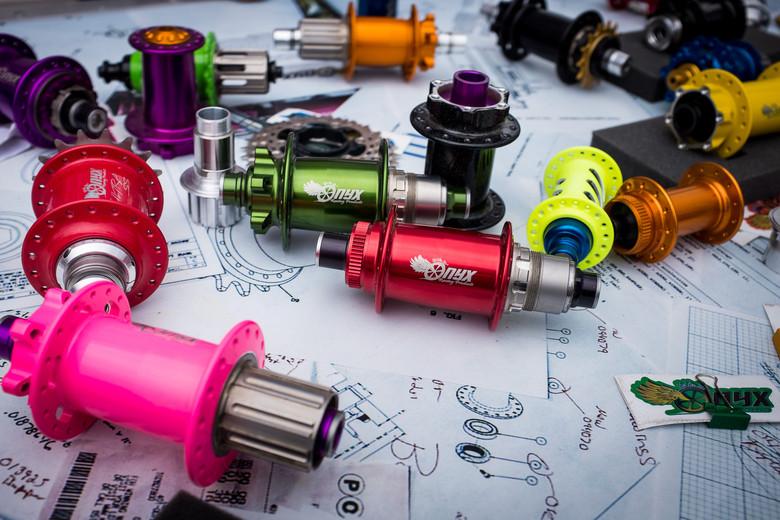 Onyx Sprag Clutch Hubs - INTERBIKE - 2017 Mountain Bike
