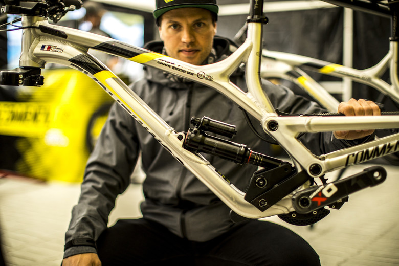 RockShox Super Deluxe Air for Remi Thirion - 2017 Fort
