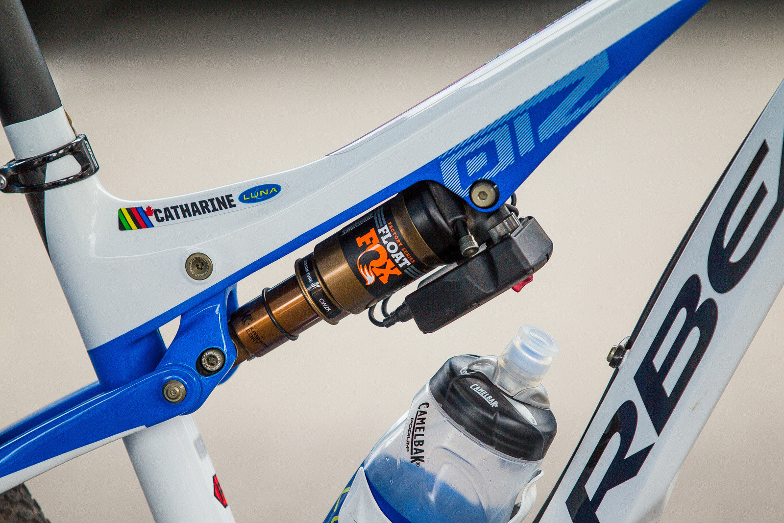 how to measure rear travel mtb