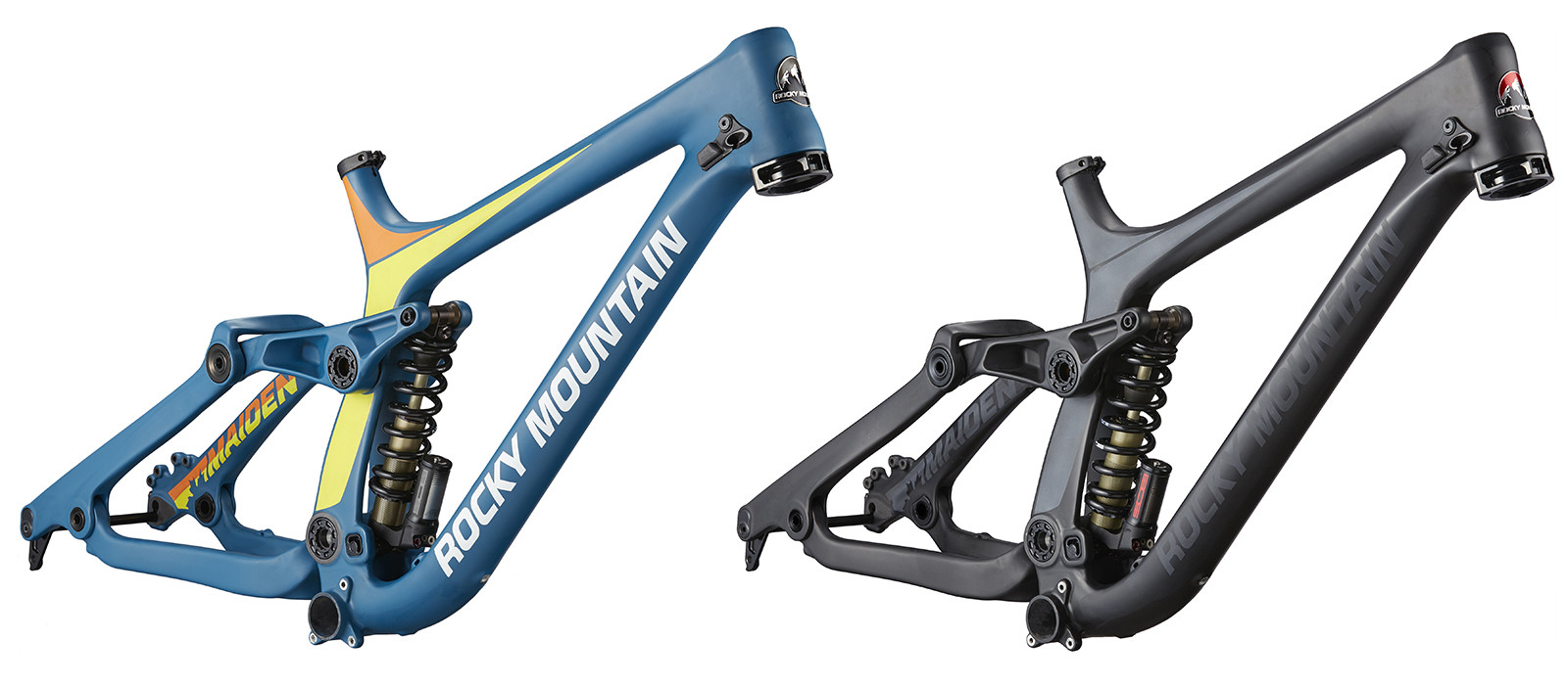 First Look, First Ride: 2016 Rocky Mountain Maiden Carbon Downhill ...