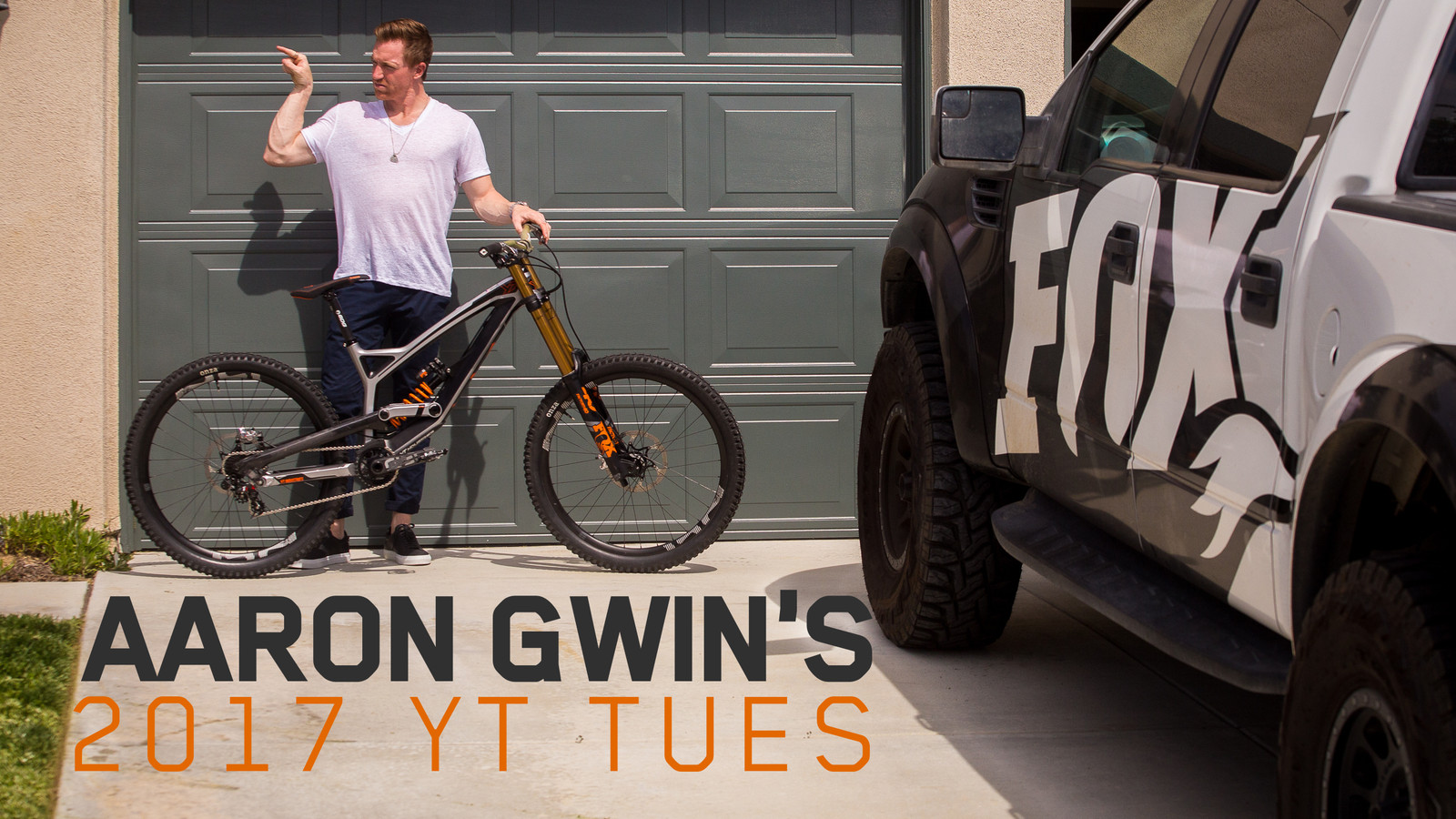 Aaron Gwin's 2017 World Cup YT Tues CF