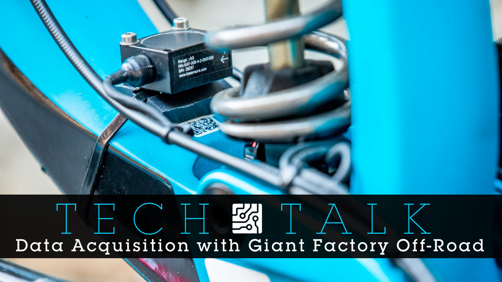 TECH TALK: Giant Factory Off-Road's Dave Garland on Data Acquisition and Bike Set Up