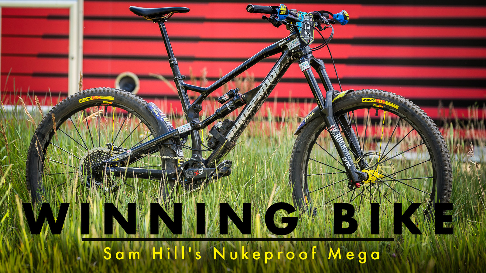 WINNING BIKE - Sam Hill's Prototype Nukeproof Mega