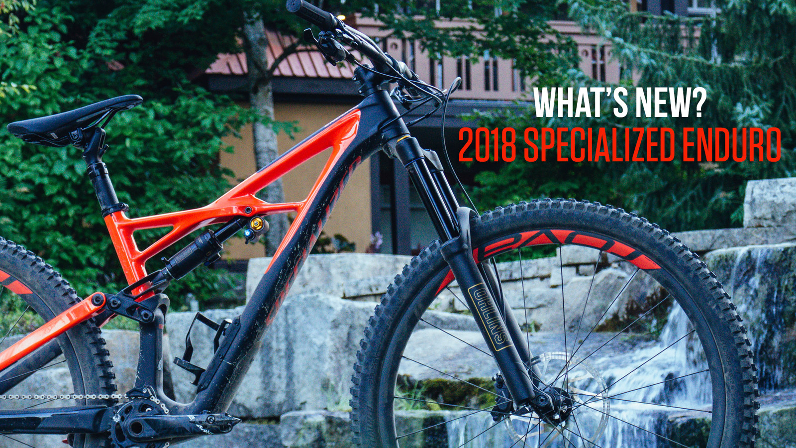 What's New on the 2018 Specialized Enduro?