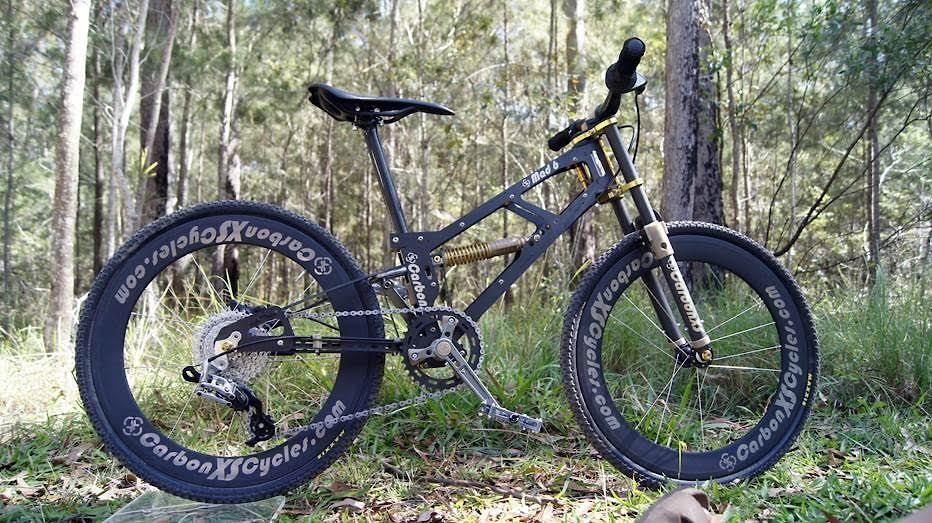 Lightest Carbon Kid S Full Suspension Bike The Hub Mountain