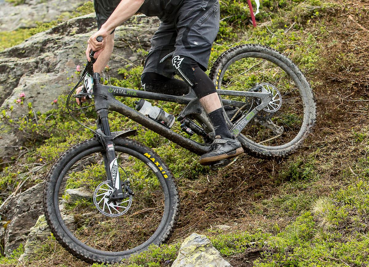 Prototype Rocky Mountain Enduro Bike The Hub Mountain Biking