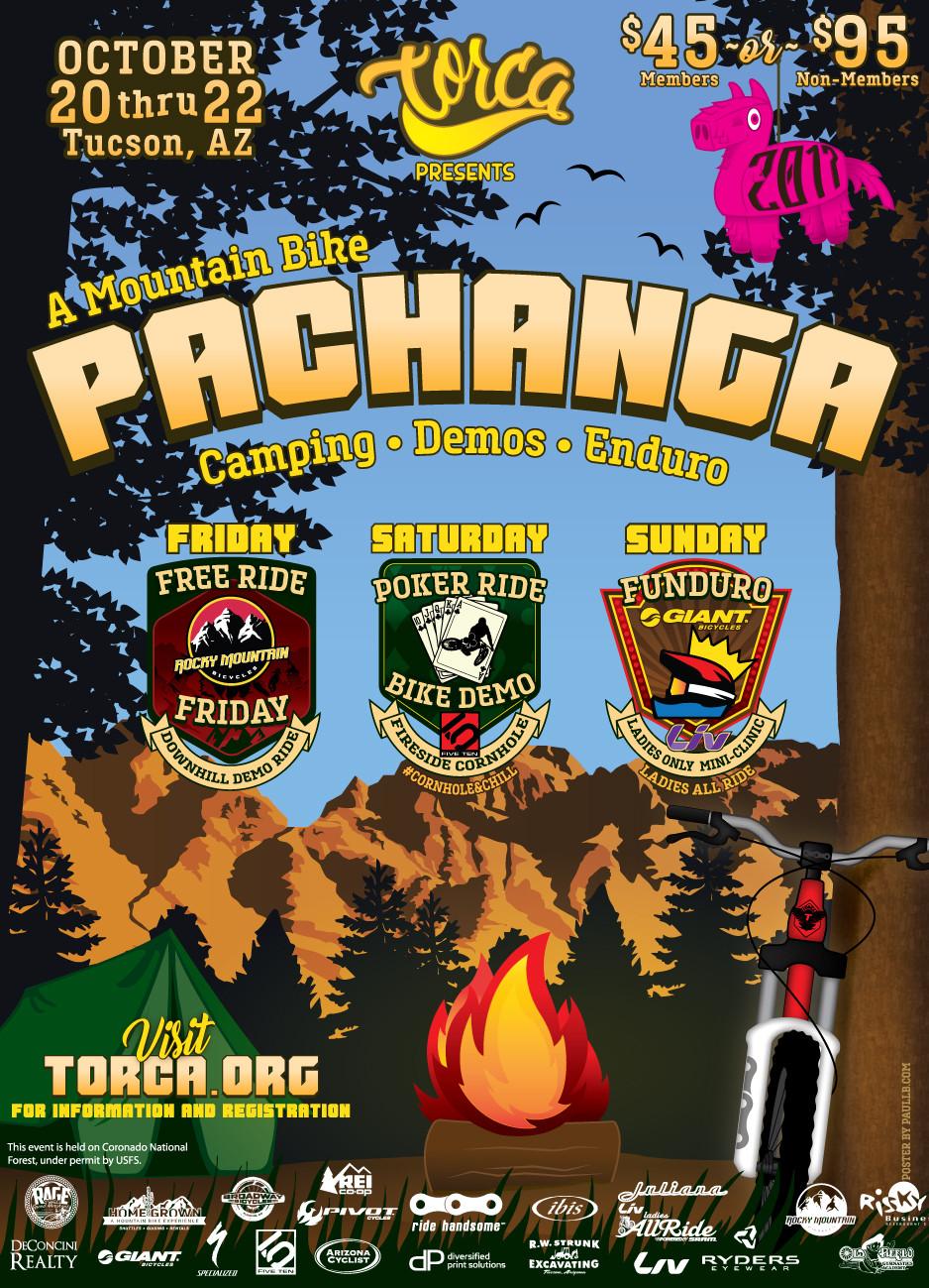 Pachanga For Your Soul - 2017 TORCA Pachanga MTB Festival in Tucson, AZ