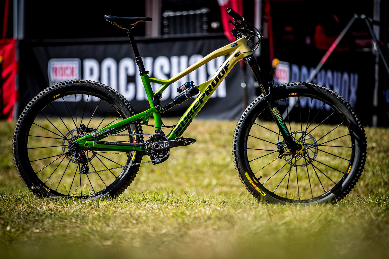 Sam Hill's One Off Nukeproof Mega For Worlds
