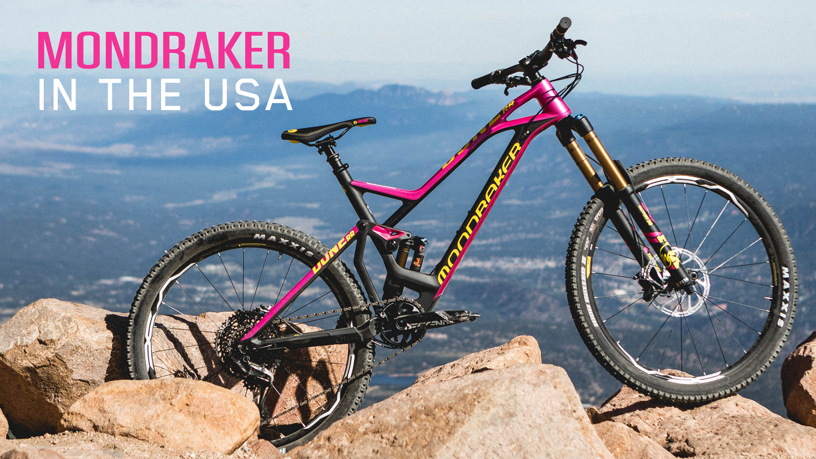 Mondraker Bikes Available Soon in the USA