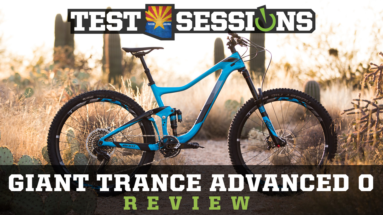 Review - 2017 Giant Trance Advanced from Vital MTB Test Sessions