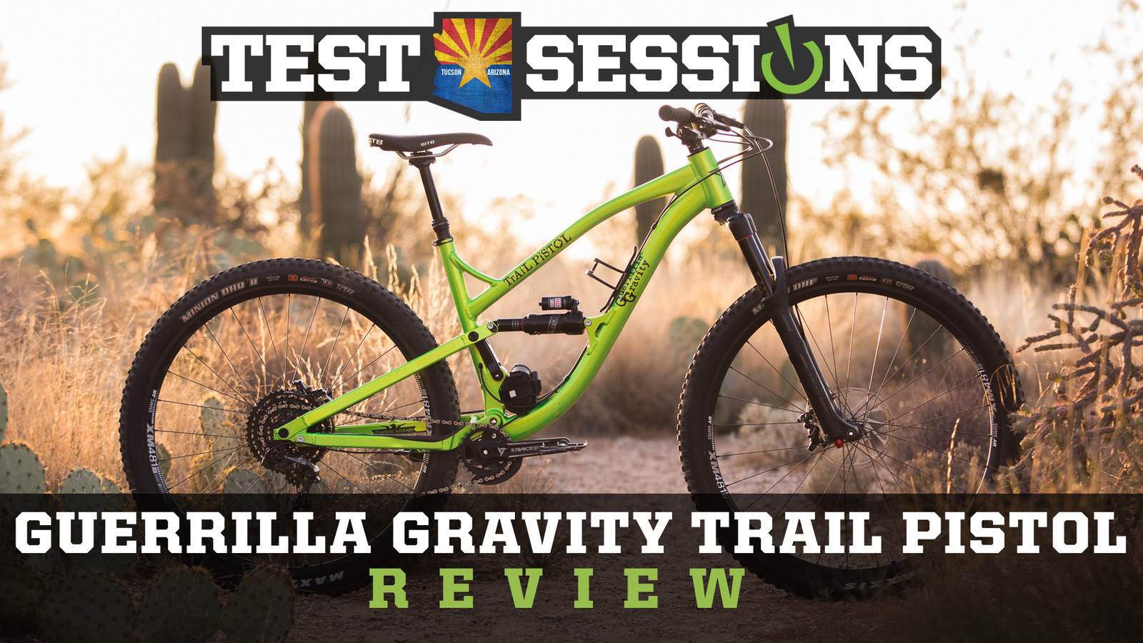 Review - 2017 Guerrilla Gravity Trail Pistol from Vital MTB Test Sessions