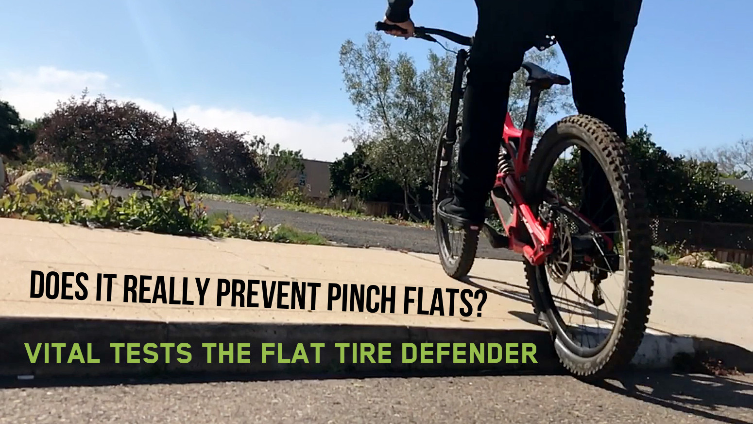 Does It Really Prevent Pinch Flats? Vital Tests the Flat Tire Defender