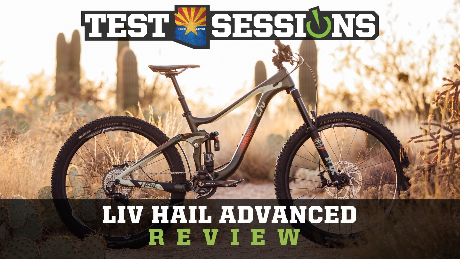 Review - 2017 Liv Hail Advanced from Vital MTB Test Sessions