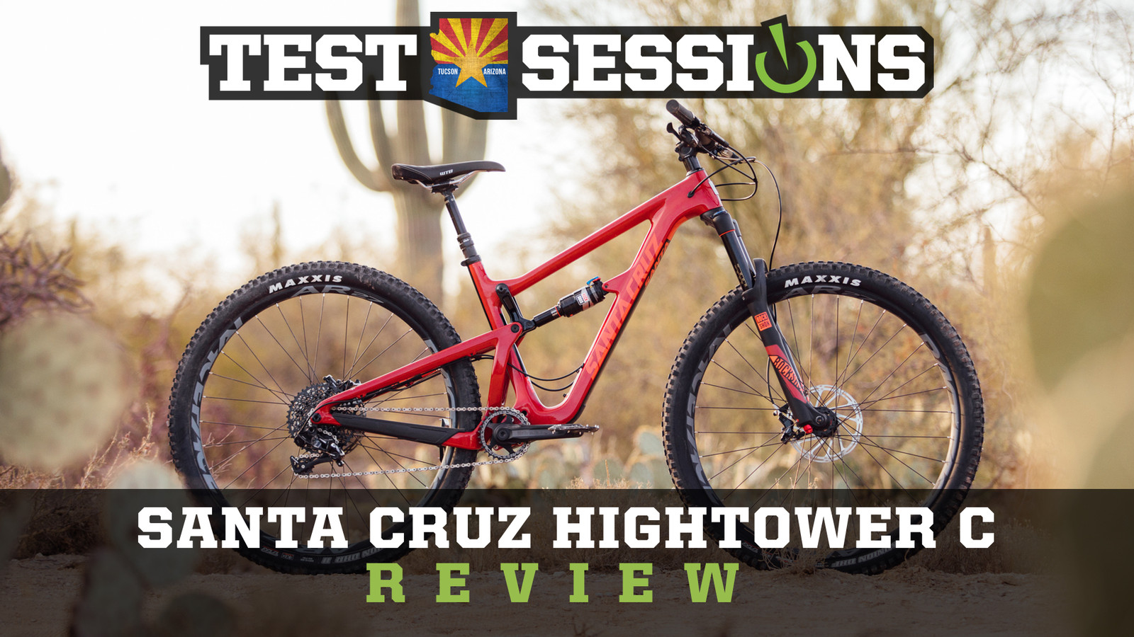 Review - 2017 Santa Cruz Hightower from Vital MTB Test Sessions