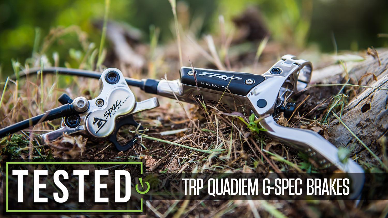 Tested: TRP Quadiem G-Spec Brakes