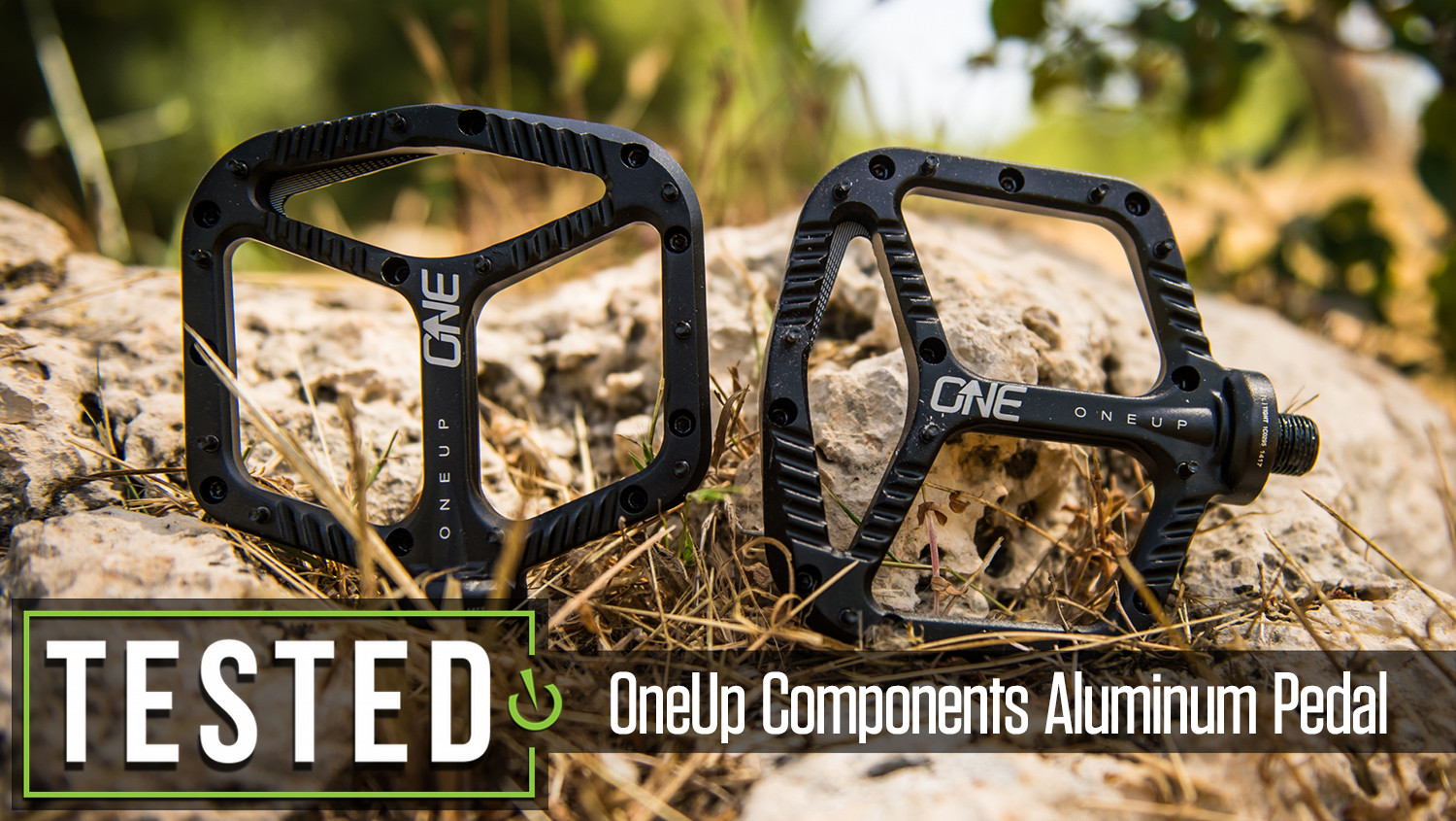 Tested: OneUp Components Aluminum Pedal