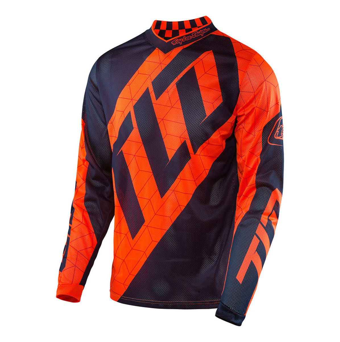 Troy Lee Designs GP Air Jersey  TLD GP Air Jersey - Quest Blue/Orange