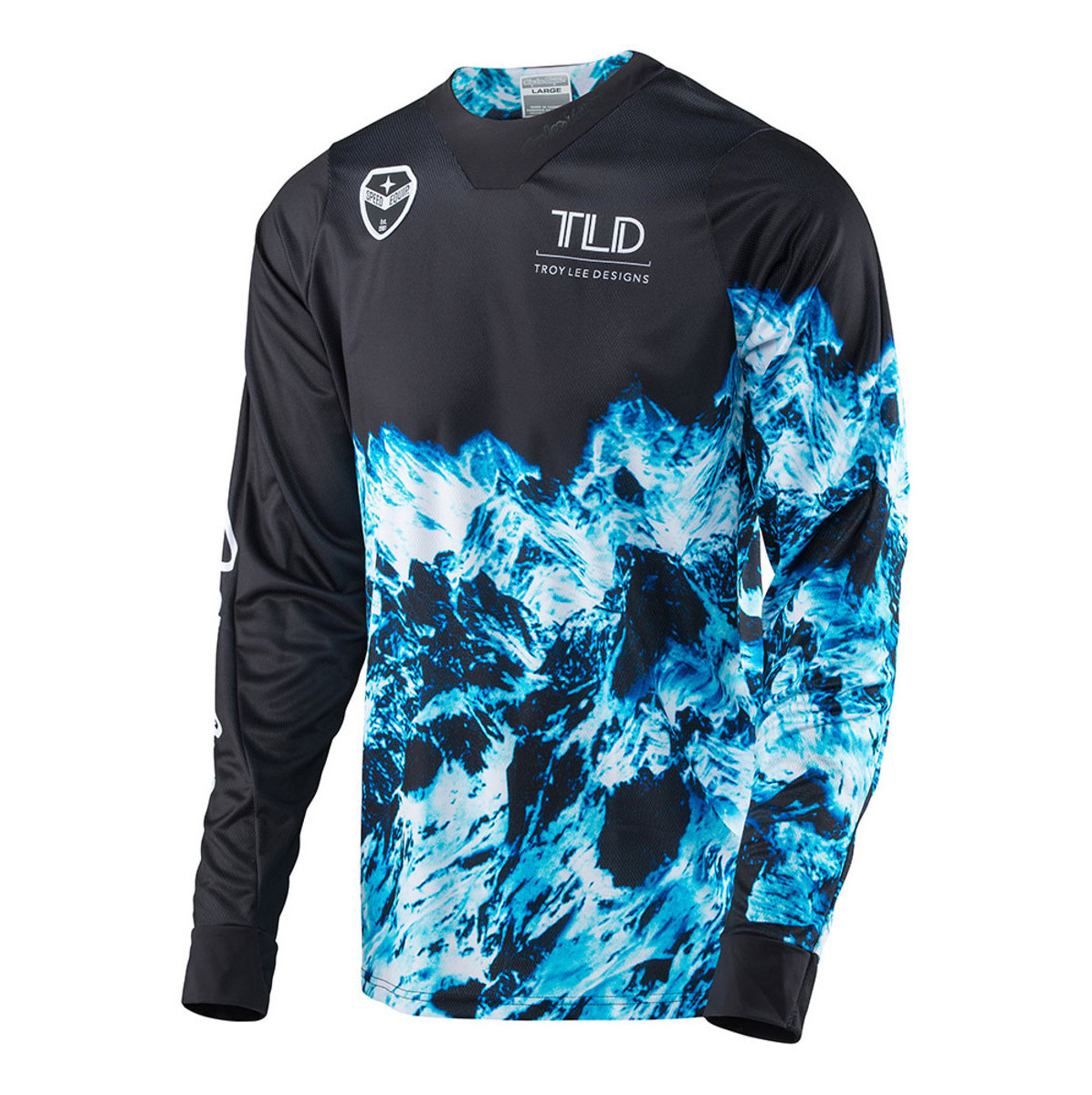Troy Lee Designs SE Jersey  TLD SE Jersey - Gravity Black