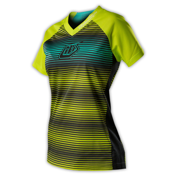 Troy Lee Designs 2015 Women's Skyline Jersey  Troy Lee Designs Women's Skyline Jersey - Lime