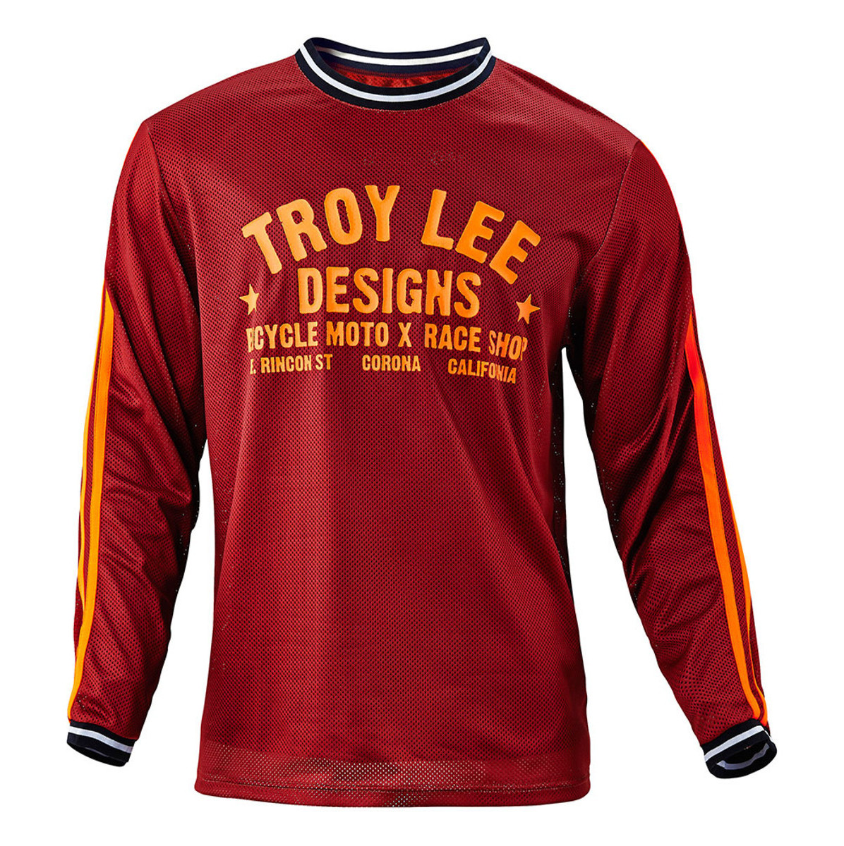 Troy Lee Designs Super Retro Jersey  TLD Super Retro Jersey - Maroon