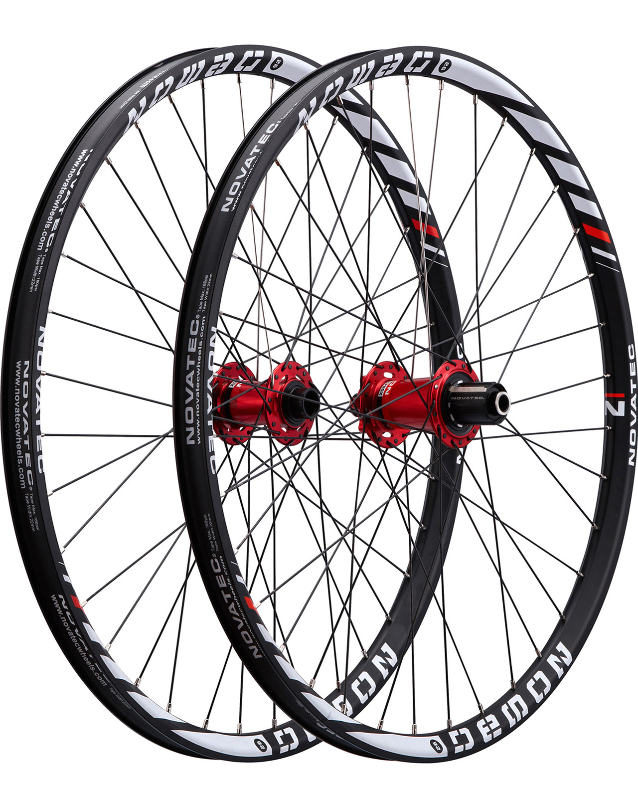 Novatec Demon Complete Wheelset demon
