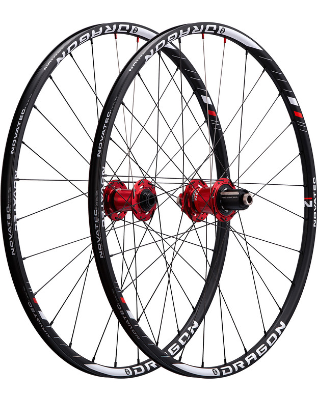 Novatec Dragon 26 Complete Wheelset dragon26