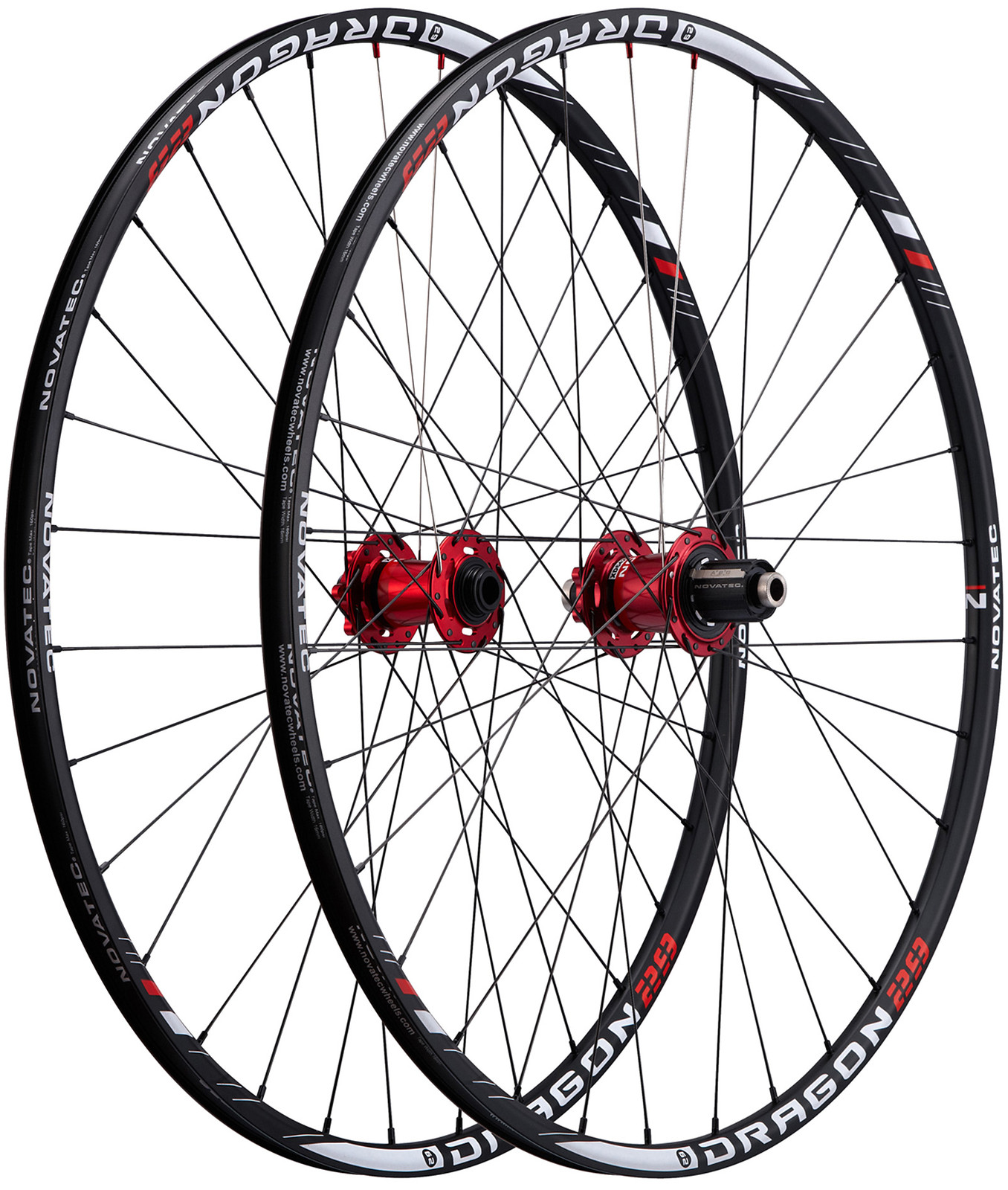 Novatec Dragon 29 Complete Wheelset dragon29