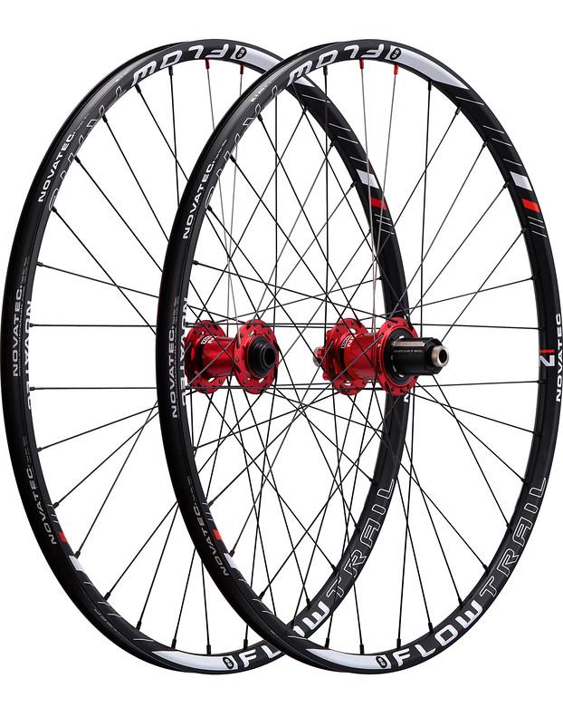 Novatec Flowtrail 26 Complete Wheelset flowtrail26
