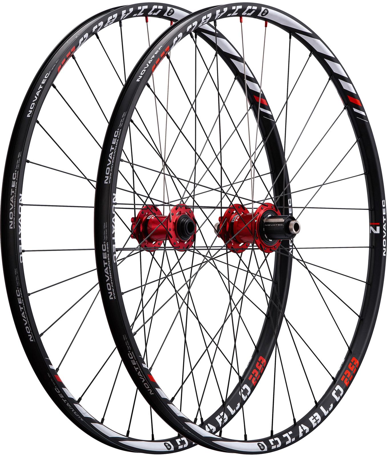 Novatec Diablo 29 Complete Wheelset diablo29
