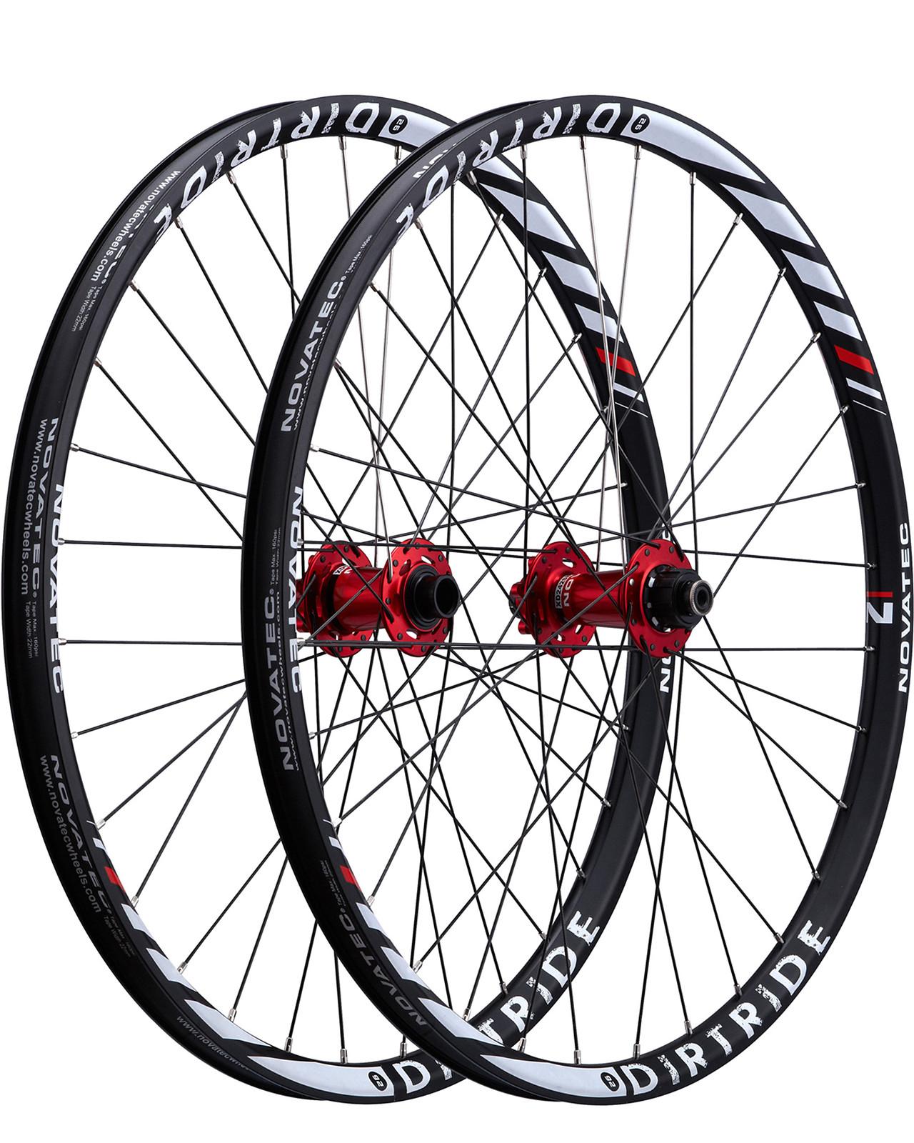 Novatec Dirtride Wheelset dirtride32