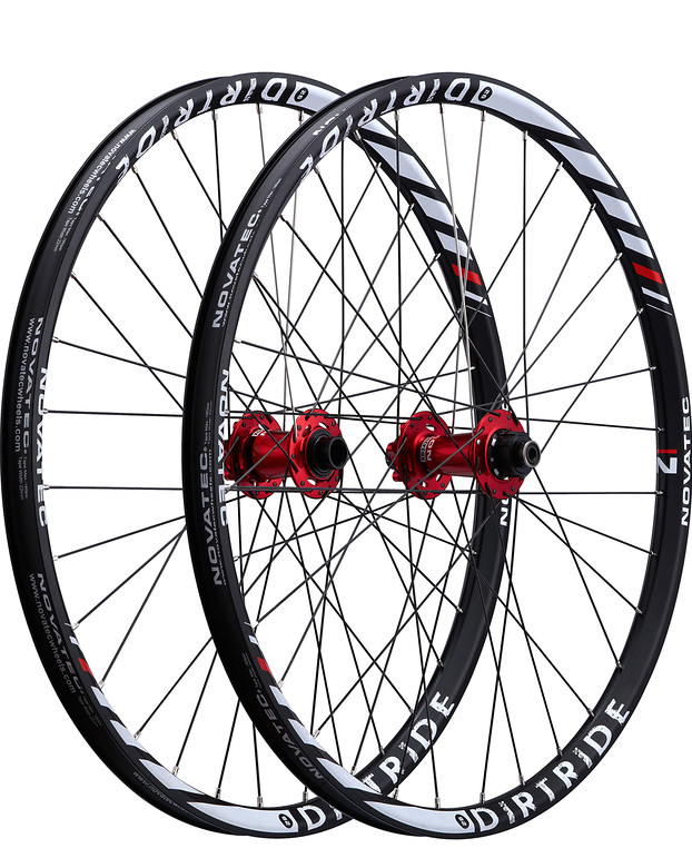 Novatec Dirt Ride Complete Wheelset dirtride32