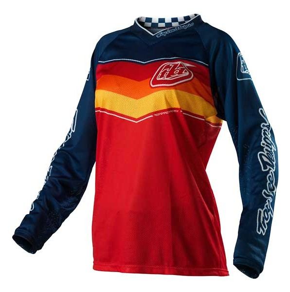 Troy Lee Designs Women's GP Air Jersey  13TLD_WGPAIR_AIRWAY_JERSEY_RED