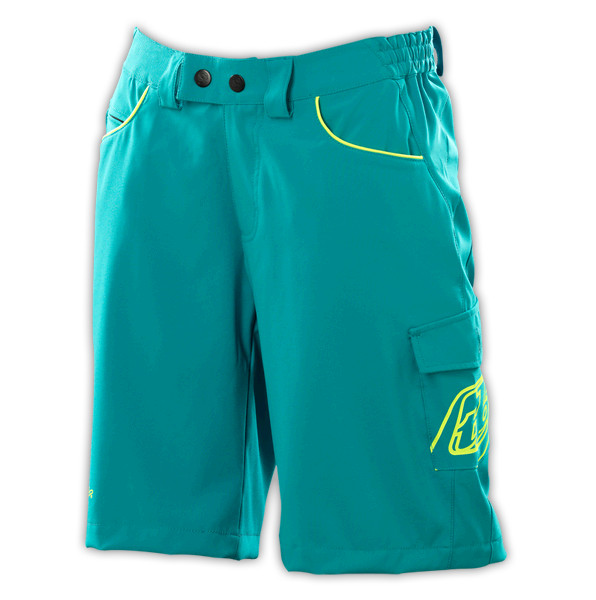Troy Lee Designs 2012 Women's Skyline Short  Troy Lee Designs Women's Skyline Short - Turquoise