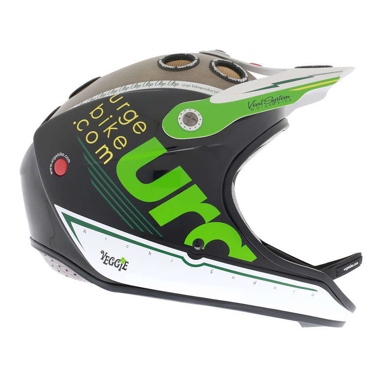 Urge 2013 Archi Enduro Veggie Full Face Helmet veggie copie