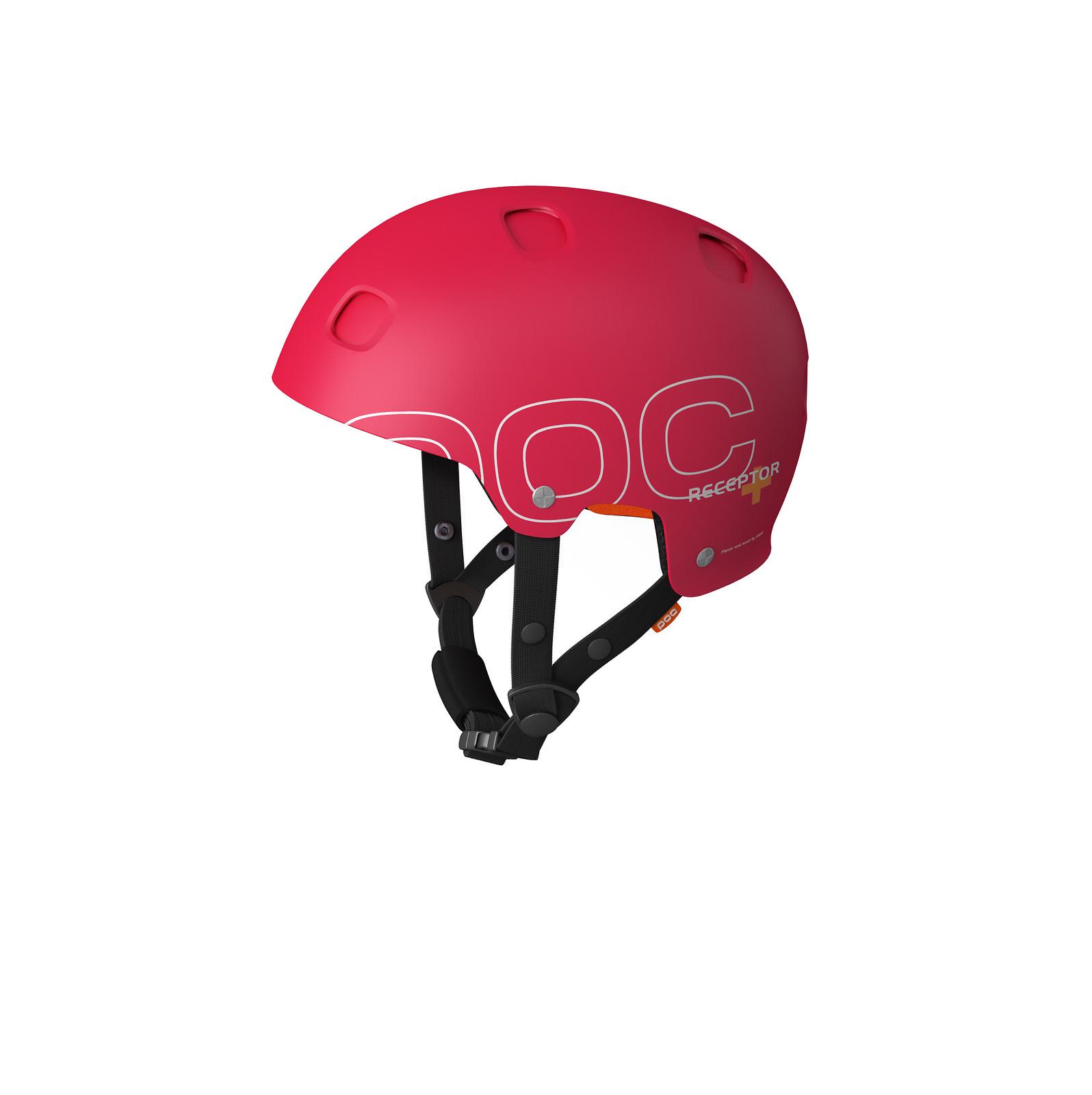 POC Receptor + Open Face Helmet Receptor+_Red_27