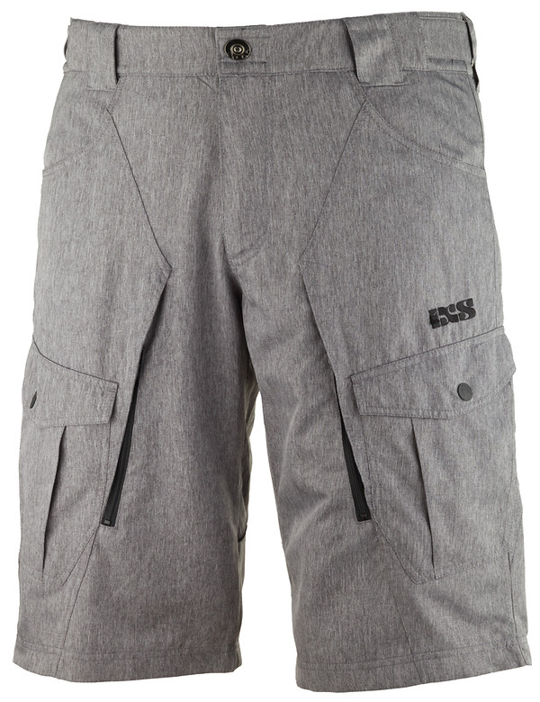iXS Lozza Riding Short lozza grey front