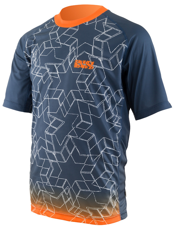 iXS Splem Riding Jersey spelm orange front