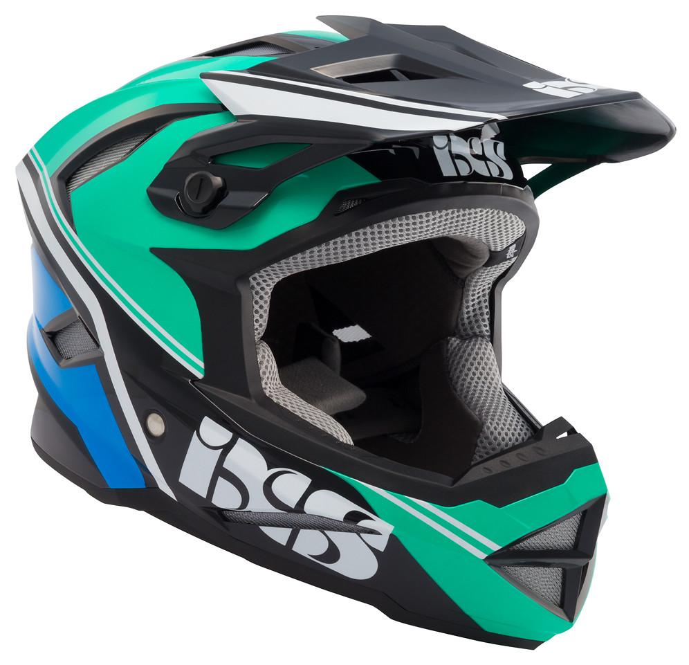 iXS Metis Addict Full Face Helmet metis addict green 1