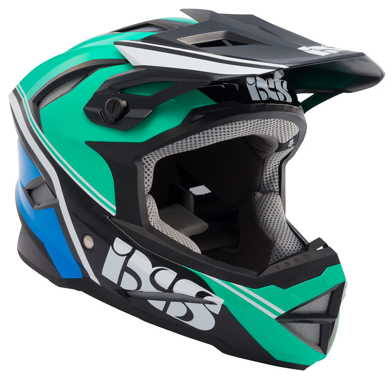 iXS Metis Addict Full Face Helmet metis addict green 1