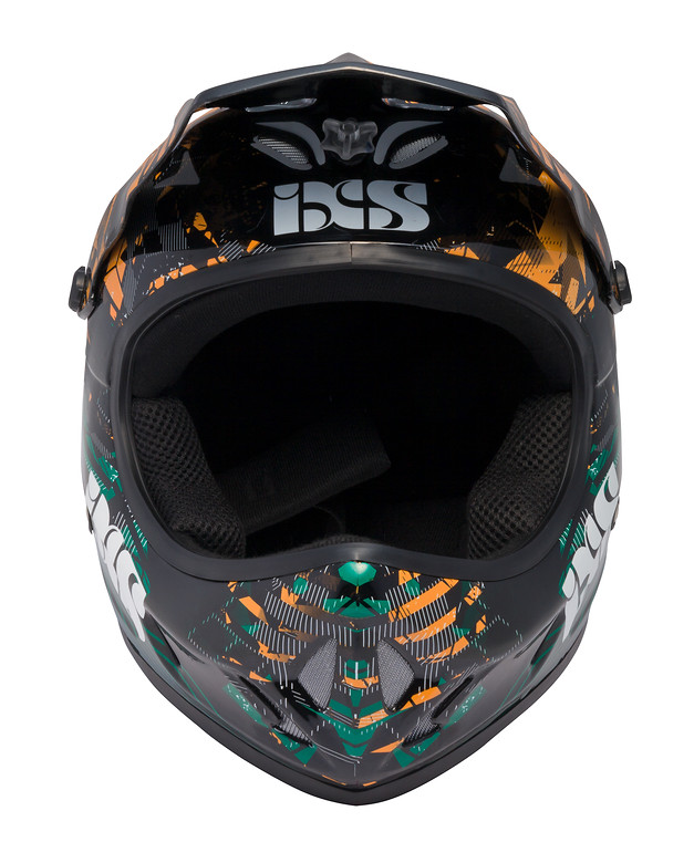 iXS Phobos-Velvet Full Face Helmet phobos velvet orange 3