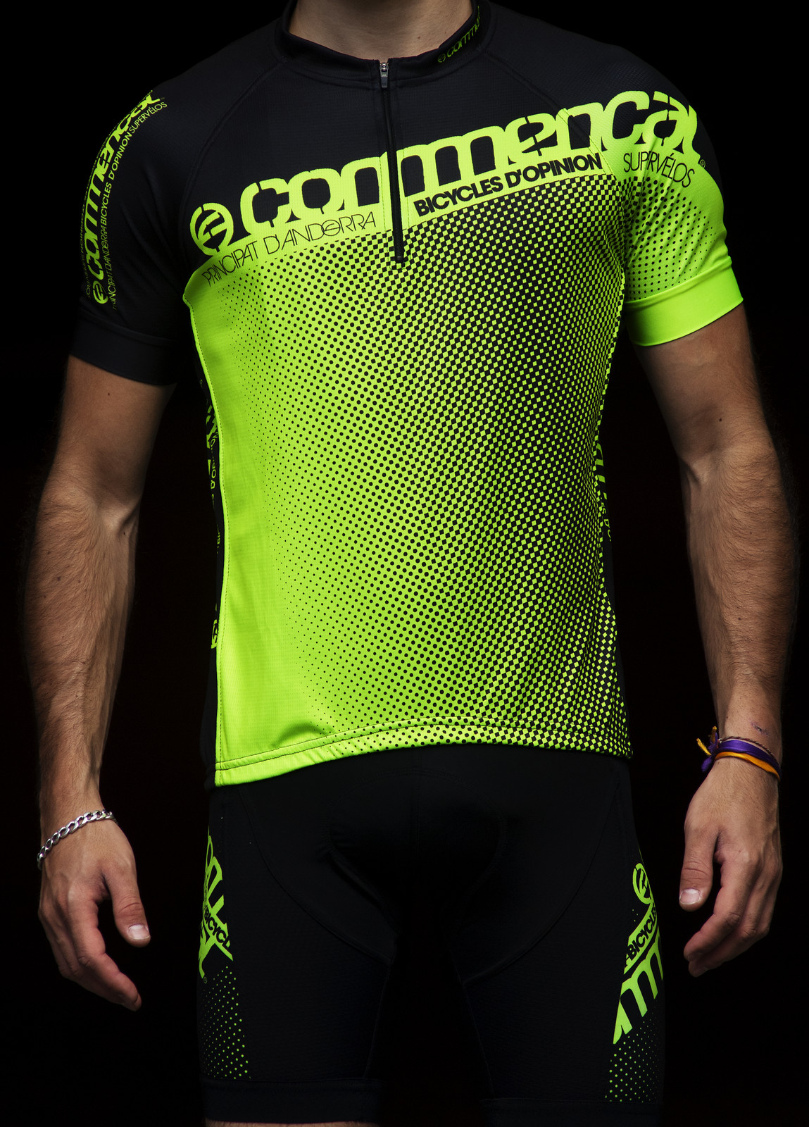 Commencal 2013 Jersey XC Short Sleeve  maillot_XC_green_1