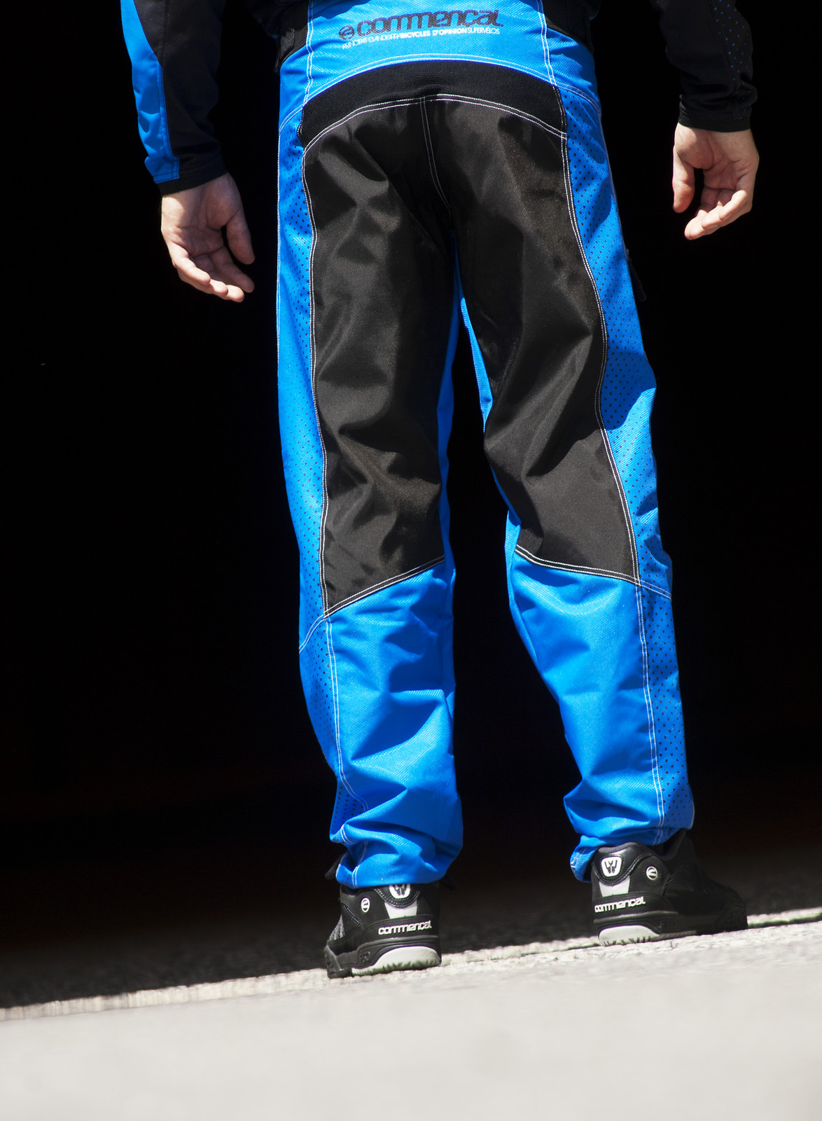 Commencal 2013 FR/DH Pants  pant_DH_blue_2