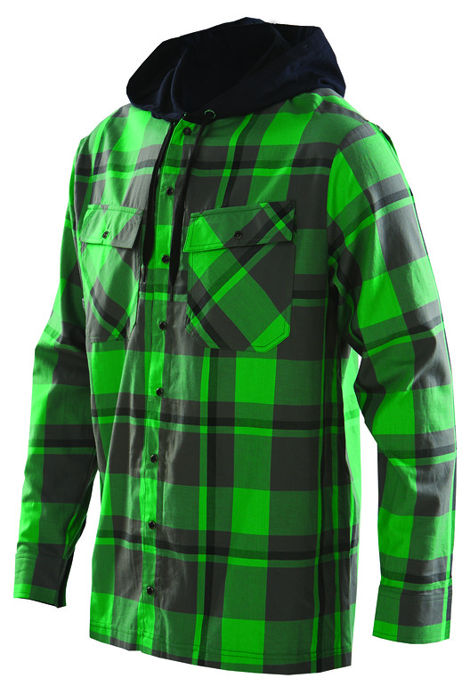 Royal 2014 Cutter Hoody  cutter shirt green f