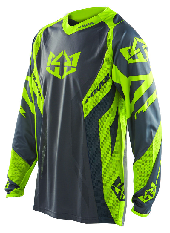 Royal 2014 Race Jersey race green grey f