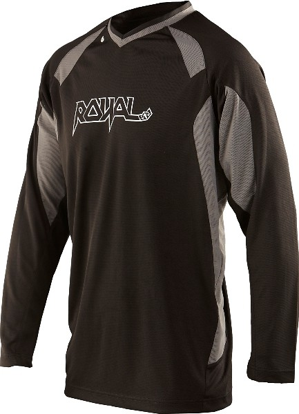 Royal 2013 Turbulence Long Sleeve Jersey turbulence black f