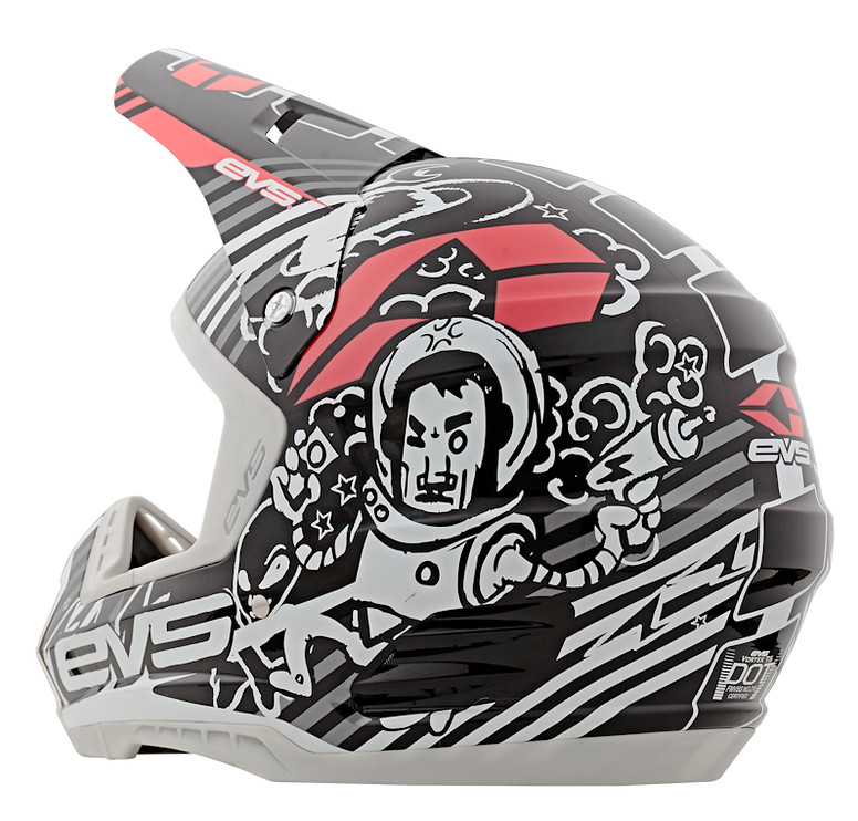 EVS Sports 2013 T5 Luchador Helmet T5-Spacecowboy