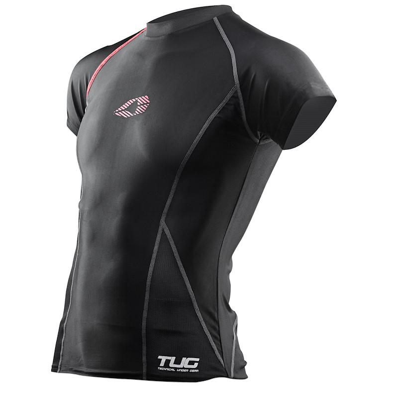 EVS Sports 2013 TUG Short Sleeve Compression Shirt  front