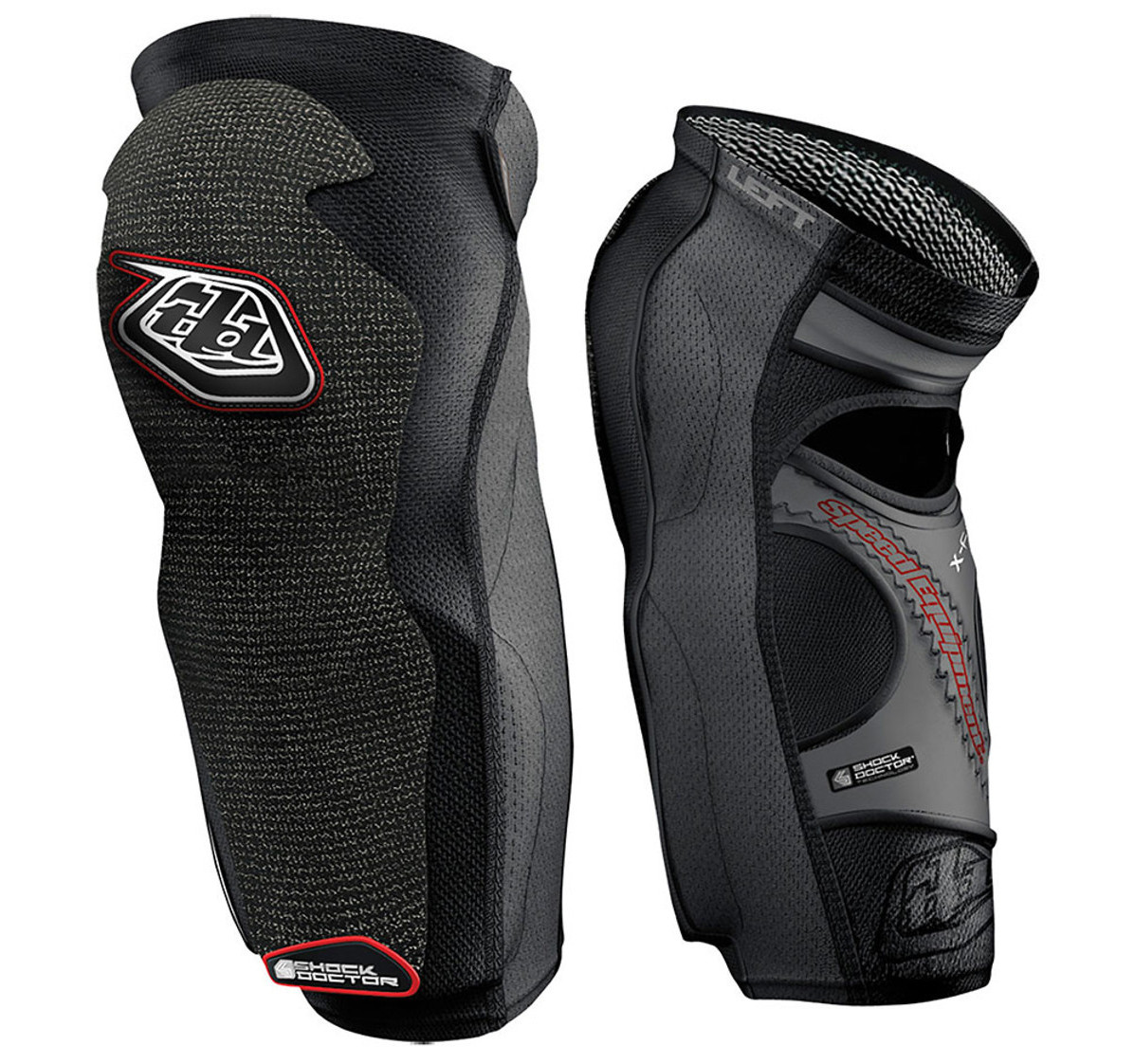 Troy Lee Designs 5450 Long Knee Guards  TLD 5450 Knee Guards Long