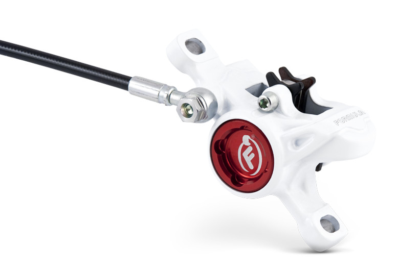 Formula 2013 RX Disc Brake White  MY13 RX CALIPER CAP SIDE WHITE