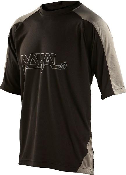 Royal 2013 AM Ride Short Sleeve Jersey AM jersey black f